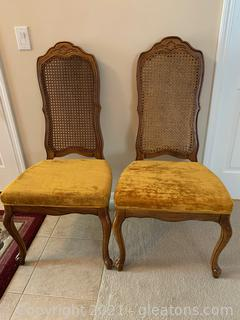 Lovely Bernhardt Cained Dining Chairs (2 Side Chairs)
