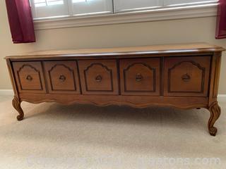 Very Nice Bassett Furniture Chest W/Wood Inlay