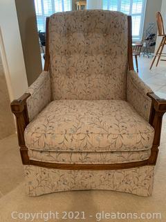 Custom Upholstered Master Craft Chair