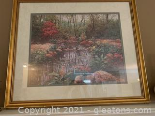 Stunning Framed Meadow Print by Charles Shaw