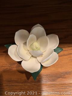 Napolean Magnolia Porcelain Flower