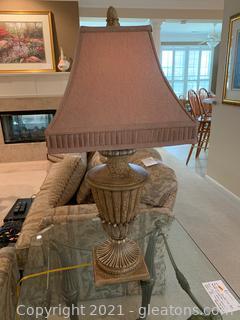 Pretty Table Lamp W/ Shade