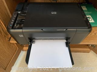 HP Printer – Deskjet F4480