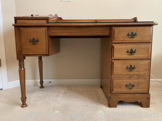 Timeless Maple Desk