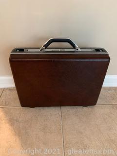 Samsonite Hard Back Brief Case