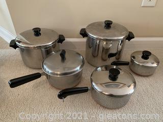 Useful Sauce and Stock Pots (5 Piece)
