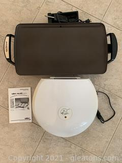 George Foreman Grill and Presto Griddle