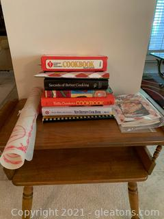 Cook Book and Pastry Sheet Lot