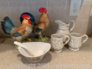 Country Charm (Lot of 6)