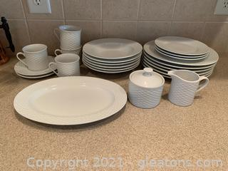 JC Penney Home Everyday Dishes (Lot of 23)