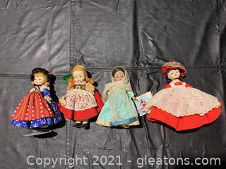 Madame Alexander Dolls (Lot of 4)