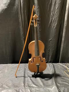 Copy of Antonius Stradivarius Cremonensis Faciebat Anno Violin W/ Bow