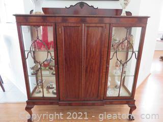 Elegant Buffet Cabinet (Contents Not Included)