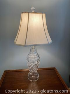 Waterford Crystal 3 Way Table Lamp