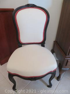 Stunning Antique Victorian Style Parlor Chair (A)