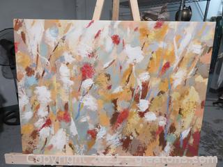 Gorgeous World Market Oil on Canvas