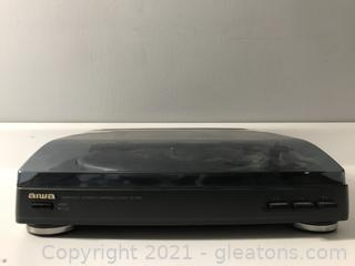 Aiwa Px-e855 Stereo Automatic Turntable Belt Drive