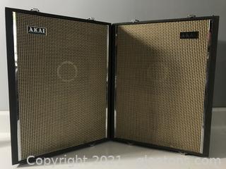 Vintage Akai Speakers