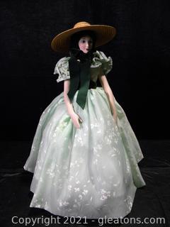 Franklin Mint Scarlett O'Hara Doll
