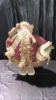 "Rugged 24"" Trapper Woodsman Santa"