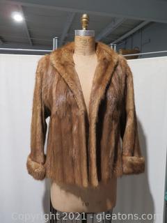 Saks Fifth Avenue Fur Jacket and Fur Vest