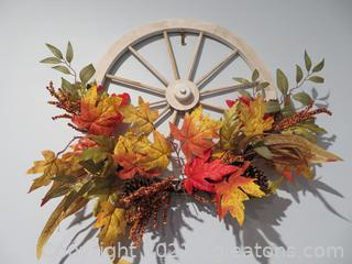 Lot of Charming Fall Wreaths