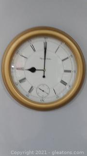 "Classy Seth Thomas Plymouth Hollow 18"" Clock"