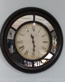 Oversized Edinburgh Clock Works Co. Wall Clock