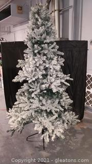 7' Footed Christmas Tree and 2 Storage Bags