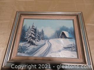 Beautiful C.Mittar Oil Painting