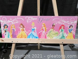 Lot of 3 Pictures for Girls on Canvas