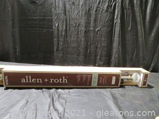 "Allen + Roth 36"" – 72"" Drapery Rod"