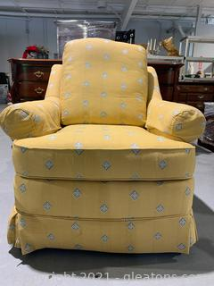 Vibrant Patterned Arm Chair