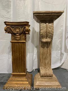 2 Column Design Tall Plant Stands