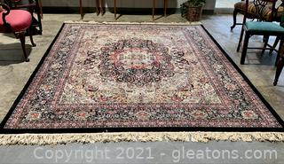 Stunning Hand Knotted Area Rug