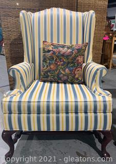 """""""Hickory Chair"""" Brand Wingback Chair"""