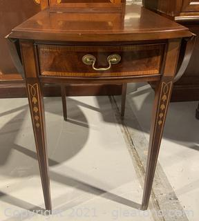 American Masterpiece Collection by Hickory Drop Leaf Table