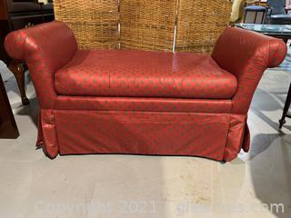 Clayton Marcus Furnishings Upholstered Bench