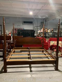 Mahogany King Size Bed Frame