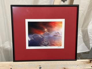 """""""Fire and Ice"""" Alan Fox #11/250 Limited Edition Signed and Numbered"""