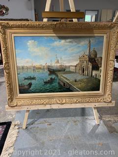 Majestic San Giorgio Maggiore Painting on Canvas