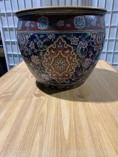 Lovely Asian Inspired Porcelain Urn
