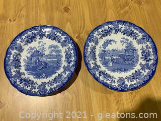 """Spode """"Blue Room Collection"""" (Lot of 2)"""