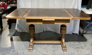 Antique Tressel Dining Table