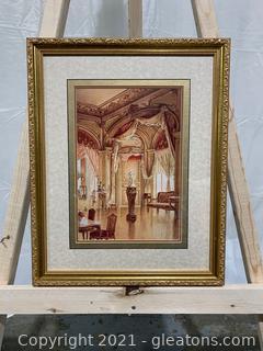 Lovely Victorian Framed Print