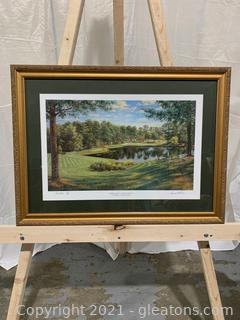 Cherokee Town & Country Club 14th Hole Print