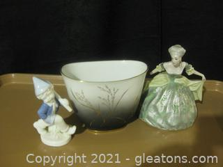 3 Delicate Pieces of Decor From Germany