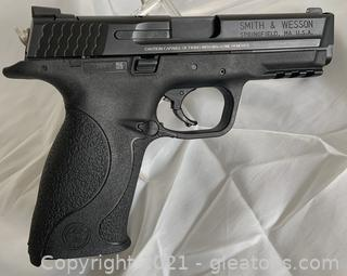 Smith + Wesson 9mm M+P