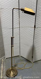 Brushed Brass Floor Lamp