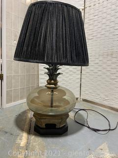 Pineapple Inspired Table Lamp